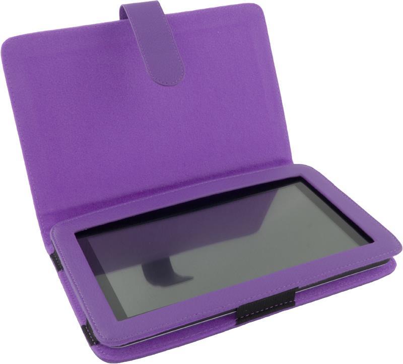 Esperanza ET181V Pouzdro pro tablet 7'', eko kůže, fialové