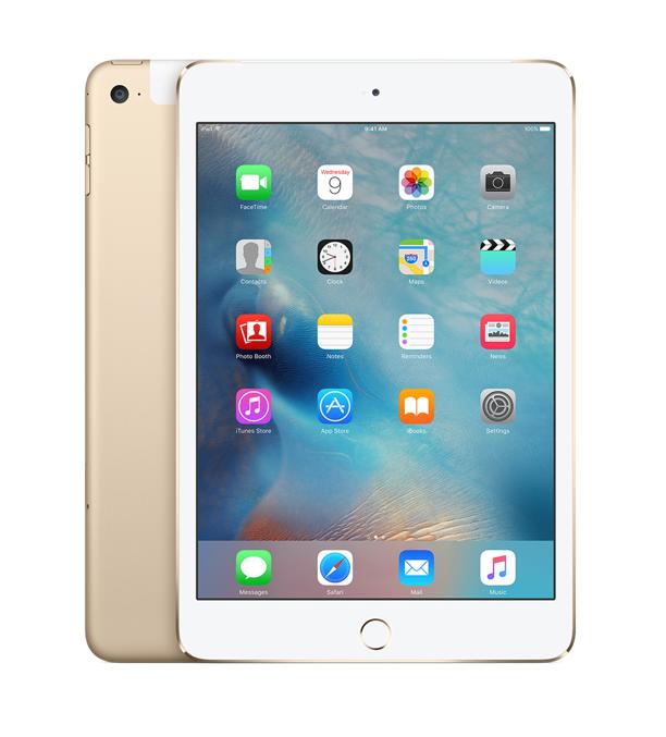 iPad mini 4 Wi-Fi+Cell 128GB Gold