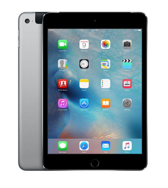 iPad mini 4 Wi-Fi+Cell 128GB Space Grey