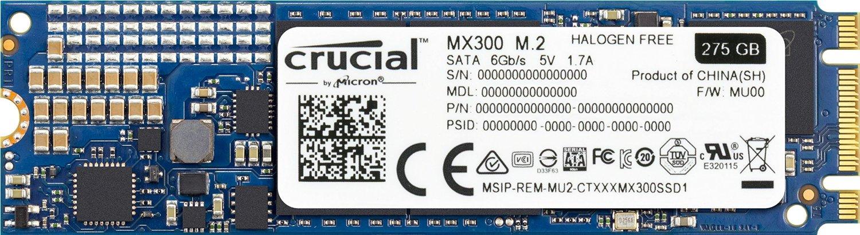 275GB SSD Crucial MX300 M.2 2280SS