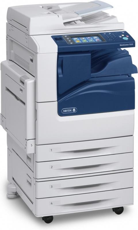 Xerox WorkCentre 7200IV_S; A3 COL laser mfp; USB/Ethernet; DUPLEX; 2x520 listů (nutno doplnit o inicializační kit!)