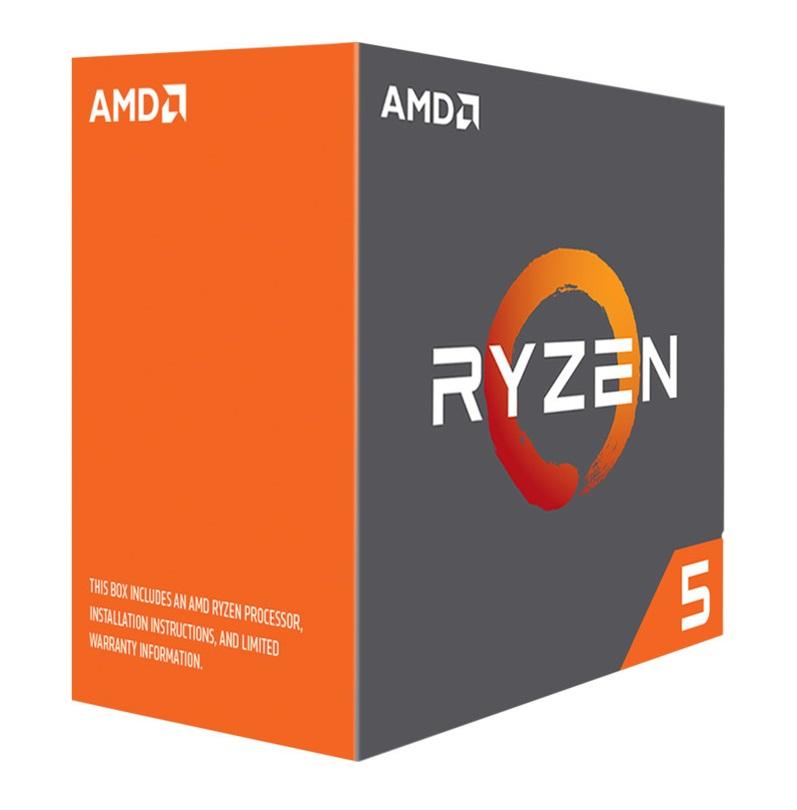 AMD cpu Ryzen 5 1600X Box AM4 (6core, 12x vlákno, 3.6GHz / 4.0GHz, 16MB cache, 95W) bez chladiče