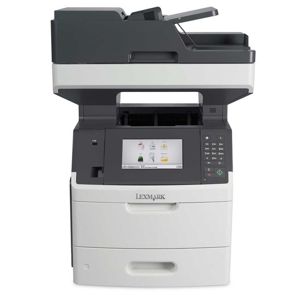 LEXMARK tiskárna MX710de MFP multifunkční A4 MONOCHROM LASER, 60ppm USB/LAN, duplex, dotykový LCD