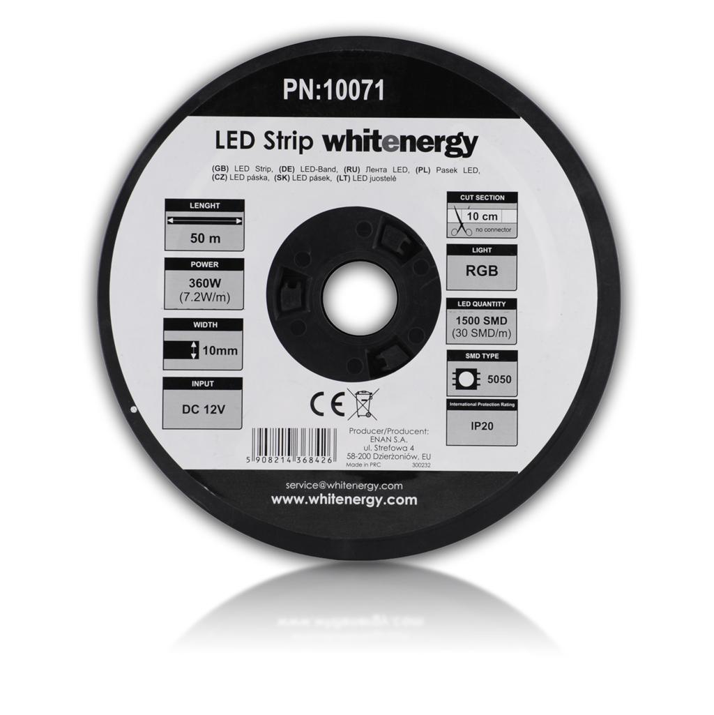WE LED páska 50m SMD5050 7.2W/m 10mm RGB