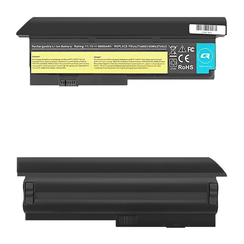 Qoltec Long Life baterie pro notebooky - Lenovo x200 x201   6600mAh   11.1V