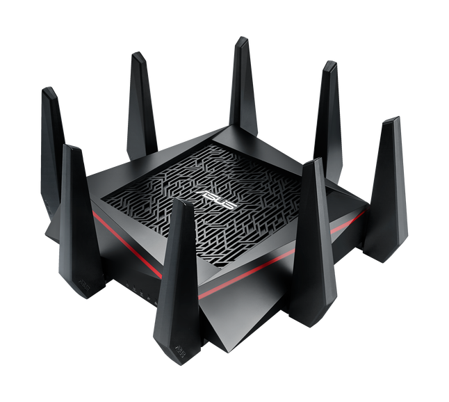 Asus RT-AC5300 Tri-band Gigabit Router, 802.11ac, 2167 Mbps + 2167 Mbps (2X5GHz)