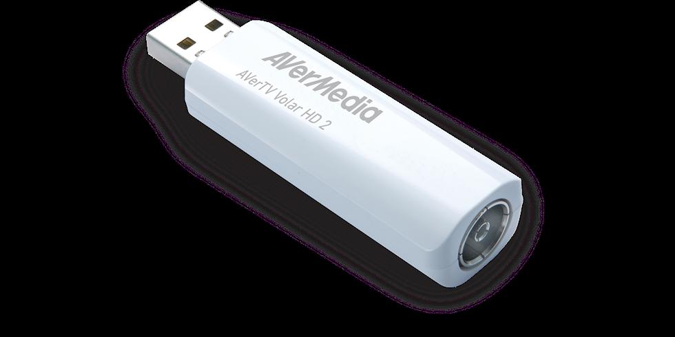 AVerMedia digital TV Tuner, AverTV Volar HD 2 TD110, DVB-T, HDTV H.264, USB 2.0