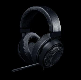Razer Kraken Pro V2 Black - Oval