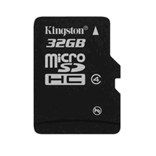 KINGSTON 32GB microSDHC Class 4 karta single pack bez adapteru