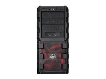 CoolerMaster skříň miditower HAF 912 Advanced, ATX, USB3.0, bez zdroje, black