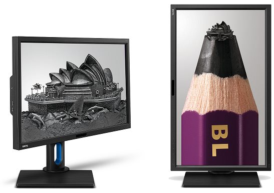 """BenQ LCD BL2711U 27""""W/IPS LED/3840x2160/20M:1/4ms/DVI/HDMI/DisplayPort/pivot/repro/Flicker-free/Low Blue Light"""