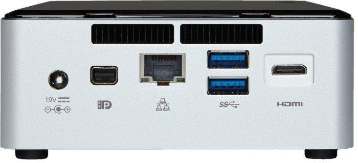 "INTEL NUC Rock Canyon/Kit NUC5i3RYH/Ii3 Core 5010U Broadwell,2.1GHZ/DDR3L1600/USB3.0/LAN/WifFi/HD5500/2,5"""