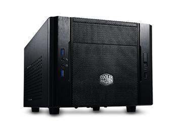 CoolerMaster case mini ITX Elite 130, black, USB3.0, bez zdroje
