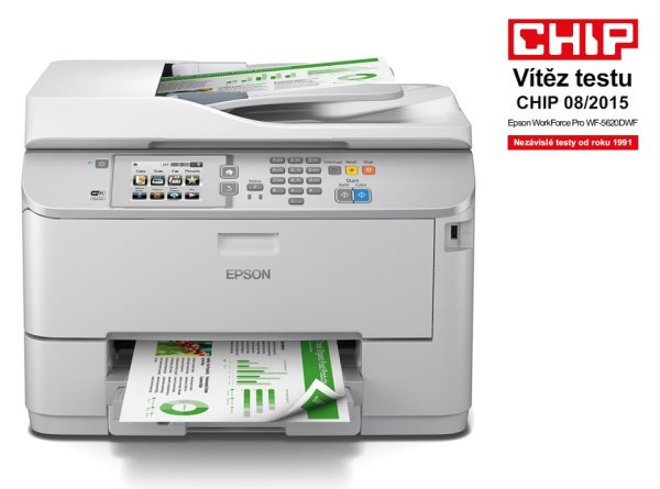 EPSON WorkForce Pro WF-5620DWF - A4/34-30ppm/4ink/USB/LAN/Duplex/ADF/Fax