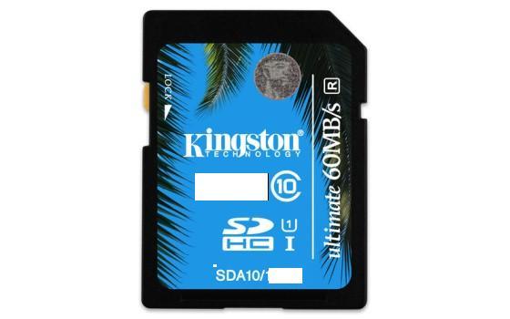 Kingston 64GB SecureDigital (SDXC) UHS-I Ultimate Memory Card (Class 10)