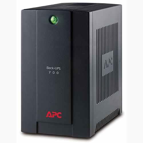 APC BACK-UPS 700VA (390W), AVR, USB, české zásuvky