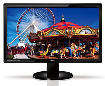 """BenQ LCD GL2460 24""""/2ms/12M:1/1920x1080/DVI/Flicker-free"""