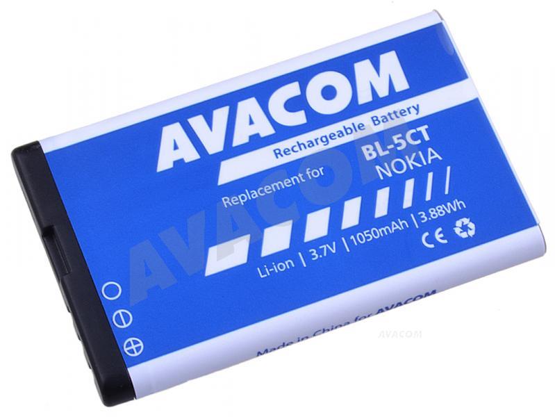 AVACOM baterie do mobilu Nokia 6303, 6730, C5, Li-Ion 3,7V 1050mAh (náhrada BL-5CT)