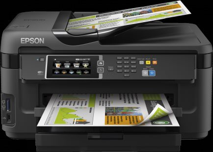 EPSON WorkForce WF-7610DWF - A3+/32-20ppm/4ink/USB/LAN/Duplex/ADF/Fax