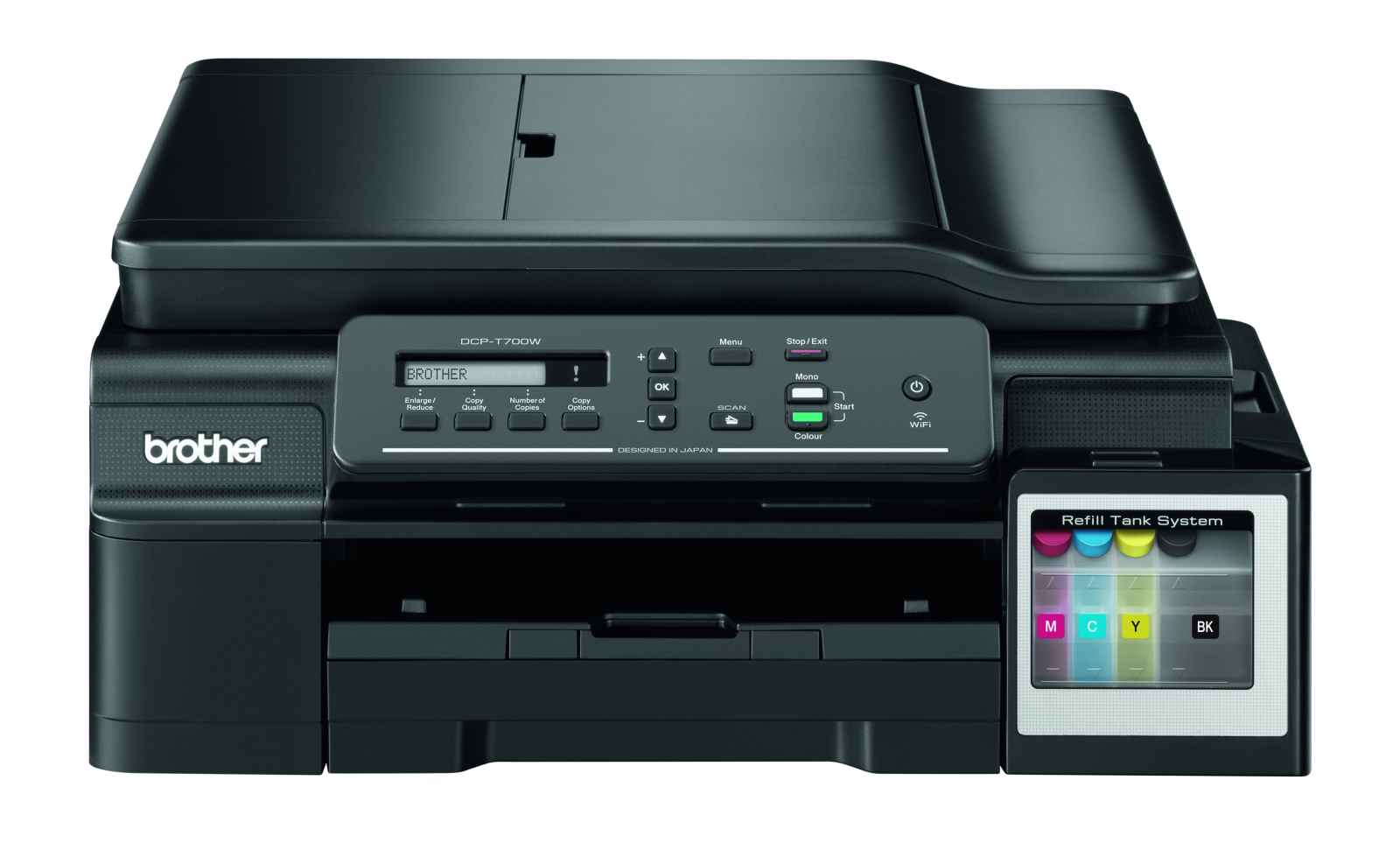 Brother DCP-T700W (tisk./kop./sken.), WiFi, ADF, ink benefit plus