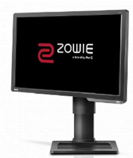 """Zowie by BenQ LCD XL2411 DARK GREY 24""""W/TN LED/FHD/12M:1/1ms/3D/DVI-DL/HDMI/pivot /Flicker-free/Low Blue Light"""