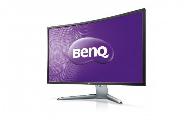 """BENQ MT LCD LED 32"""" EX3200R, kabely v balení miniDP-DP, HDMI 1.4 - repair - BAZAR"""