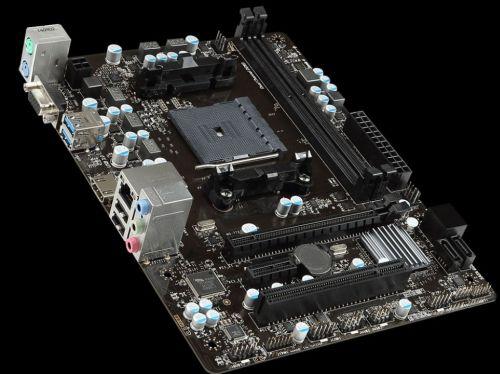 MSI MB Sc FM2+, A68HM-E33 V2, AMD A68X, 2xDDR3, VGA+HDMI, GbLAN, mATX