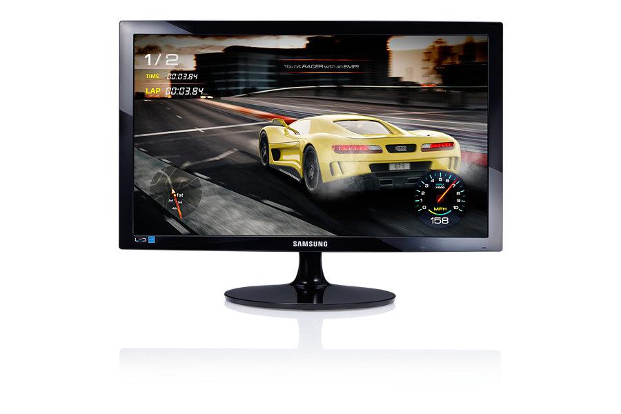 """Samsung LED LCD 24"""" S24D330H - TN, 1920x1080, 1ms, 250cd, D-SUB, HDMI, černý lesklý"""
