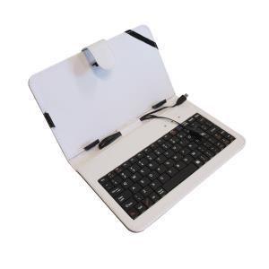 ART AB-101A pouzdro + micro USB klávesnice pro TABLET 7'', bílé,