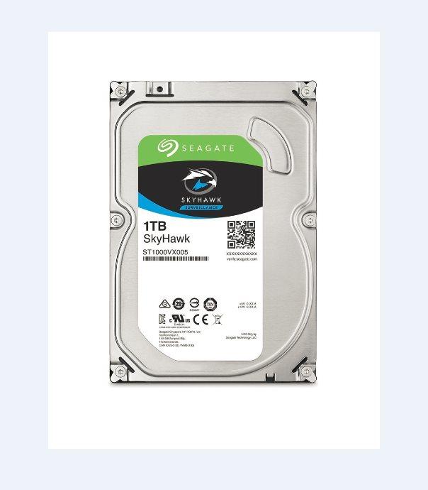 Seagate SkyHawk HDD, 1TB, SATAIII, 64MB cache, 5.900RPM