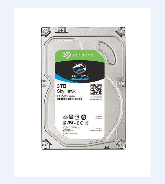 SEAGATE HDD SKYHAWK (SURVEILLANCE) 3TB SATAIII/600 5900RPM, 64MB cache