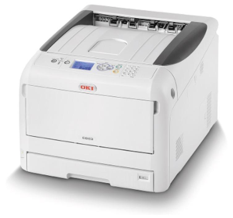OKI C823n A4/A3 - 23/13ppm, ProQ2400, USB, LAN