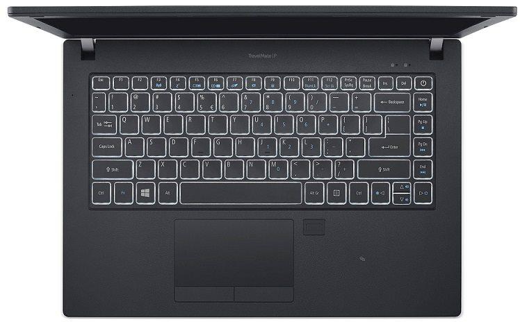"Acer TravelMate P249-G2-M-33TD i3-7100U/4GB+N/256GB+N/DVDRW/HD Graphics/14"" HD matný/BT/W10 Pro/Black"