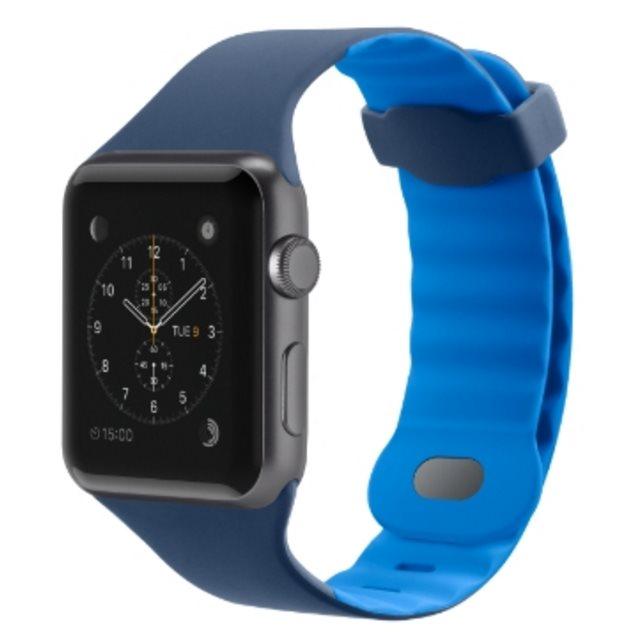 Sportovní řemínek pro Apple watch (42mm) - námoř. modrá