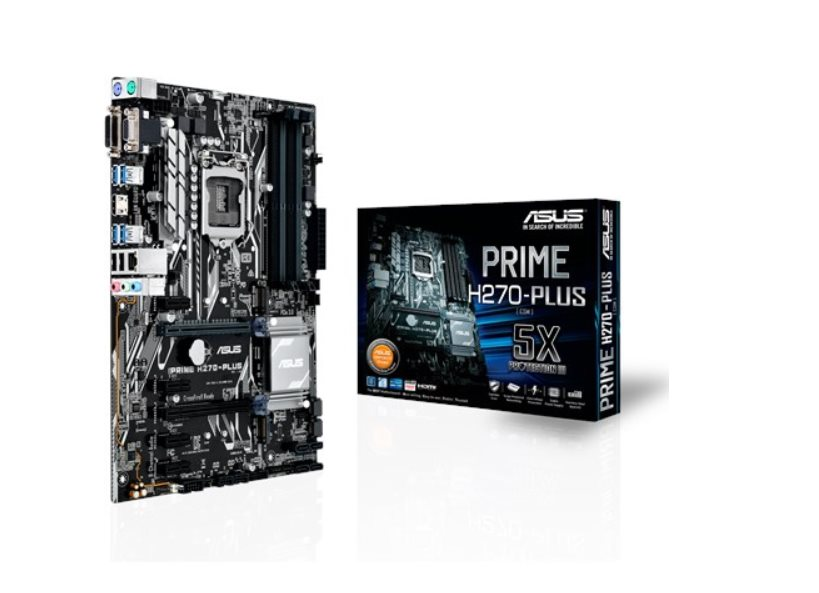 ASUS MB Sc LGA1151 PRIME H270-PLUS MINING, Intel H270, 4xDDR4, VGA