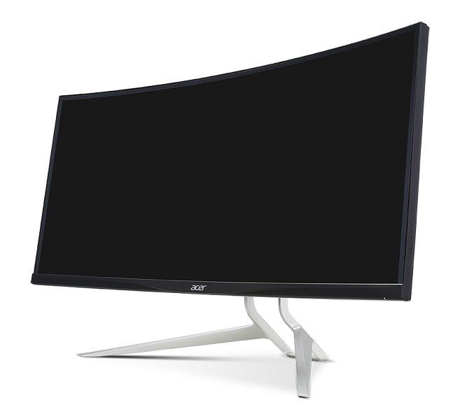 """Acer LCD Predator XR382CQKbmijphuzx 37,5"""" IPS LED QHD 4K 3840x1600/100M:1/5ms/ HDMI 2.0, HDMI(MHL1.2), DP, DP Out"""