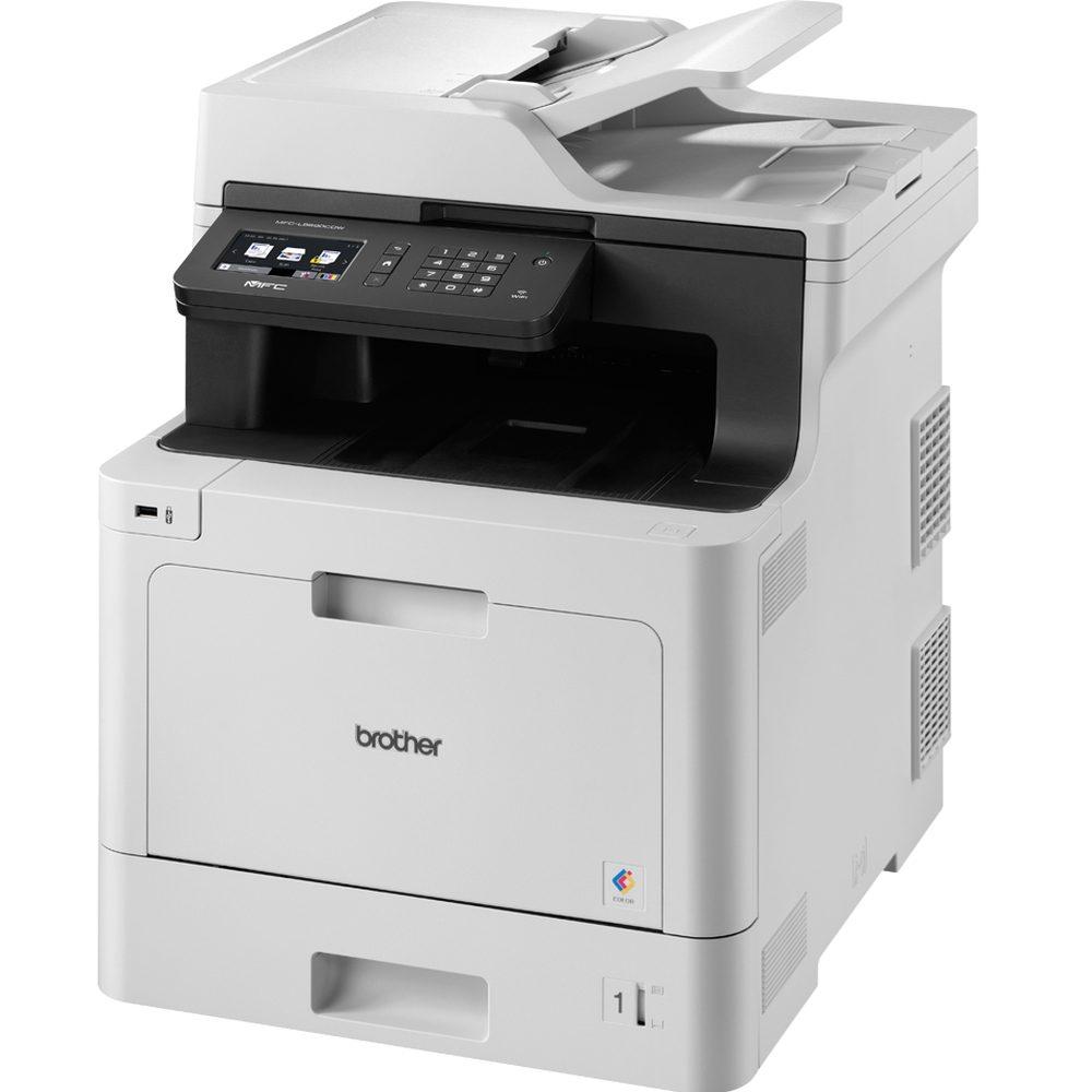 Brother MFC-L8690CDW (31 str., PCL6, ethernet, WiFi, duplexní tisk i sken DADF, mobilní tisk, fax)