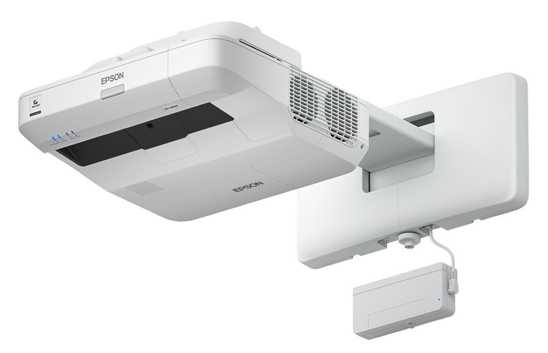 EPSON projektor EB-1450Ui - 1920x1200, 3800ANSI, HDMI, VGA, SHORT, LAN,MHL, interaktivní
