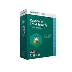 Kaspersky Total Security multi-device 2017 CZ, 3 zařízení, 24 měsíců - prodloužení (ESD)