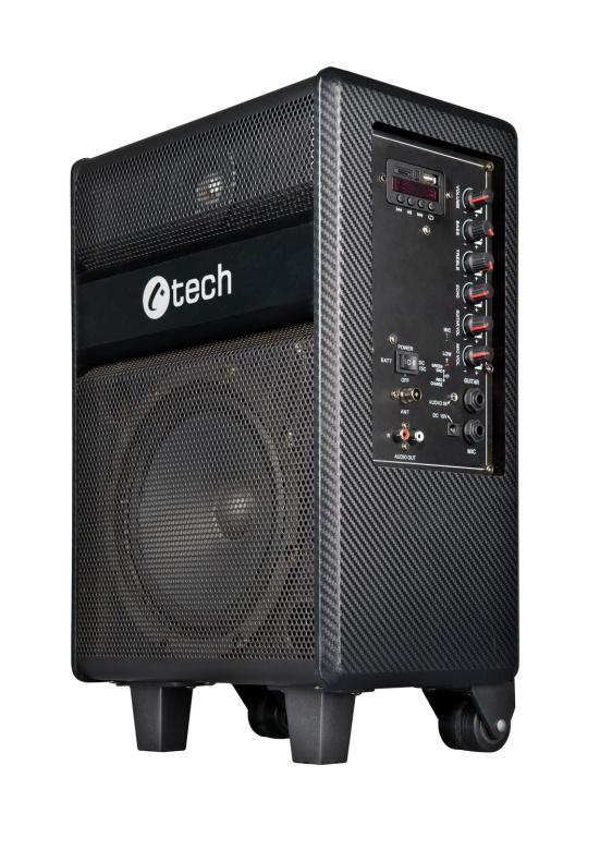 C-TECH repro Impressio Party, all-in-one, 35W, přenostný aktivní, DO, Mikrofon