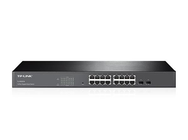 TP-Link TL-SG2216 16-Port Gigabit, Managed/2xSFP Combo