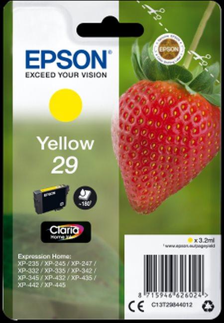 Epson Singlepack Yellow 29 Claria Home Ink