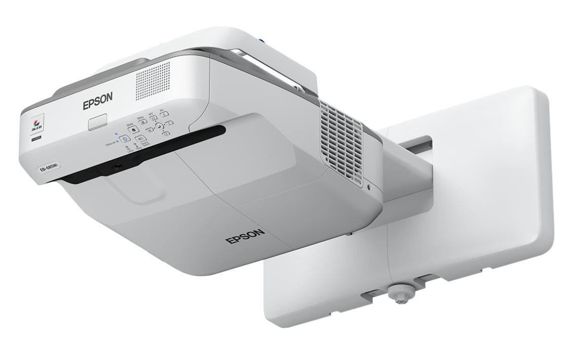 EPSON projektor EB-680 - 1024x768, 3500ANSI, HDMI, VGA, SHORT, 10000h ECO životnost lampy,
