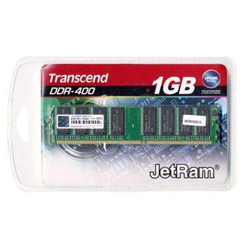 Transcend 1GB JetRam 400MHz DDR Non-ECC CL3 DIMM