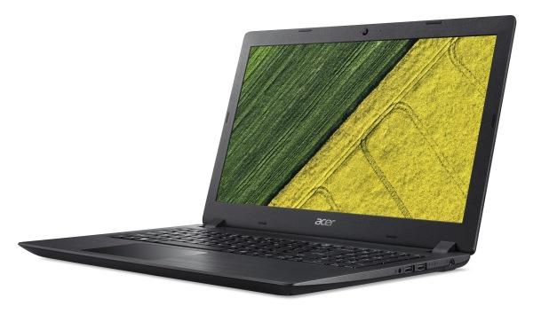 "Acer Aspire 3 (A315-51-330U) i3-6006U/4GB+N/A/1TB+N/HD Graphics/15,6"" FHD LED matný/BT/W10 Home/Black"