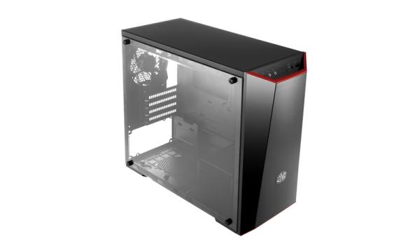 Cooler Master case MasterBox Lite 3.1, microATX,black, USB3.0, bez zdroje