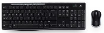 Logitech MK270 bezdrátová klávesnice Desktop, US verze