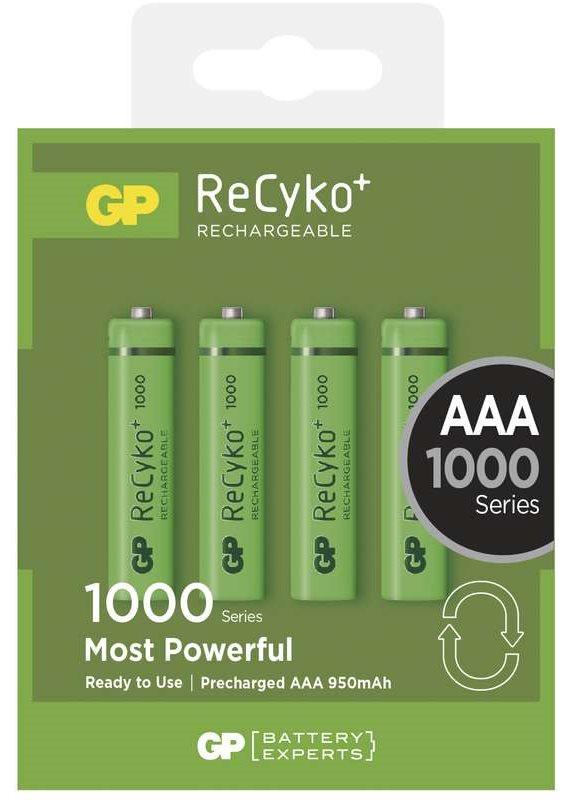 GP AAA ReCyko+ 1000 series, nabíjecí, 4 ks