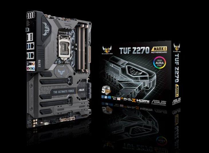 ASUS MB Sc LGA1151 TUF Z270 MARK 1, Intel Z270, 4xDDR, VGA