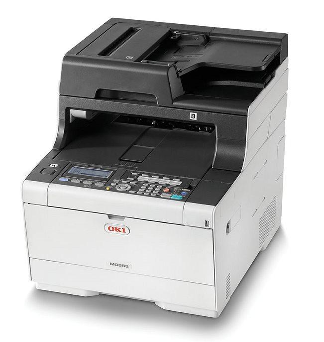 OKI MC563dn A4 30/30 ppm, 1200x1200dpi, 1GB RAM, RADF, USB 2.0 LAN, (Print/Scan/Copy/FAX)